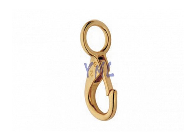 BH09 249B Brass Snap Hook
