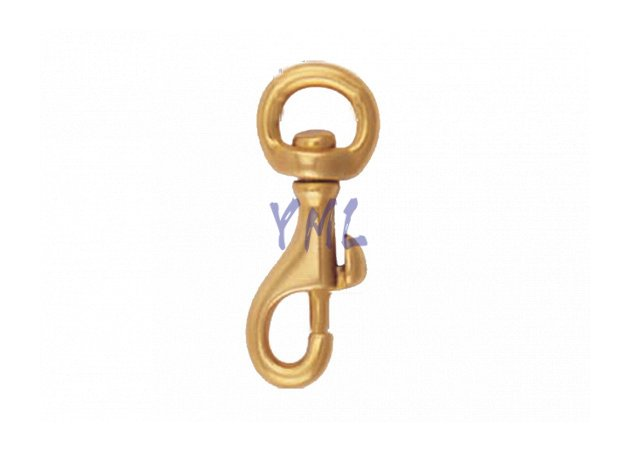 BH01 B008 Brass Snap Hook