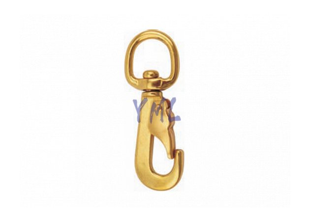 BH08 830B Brass Snap Hook