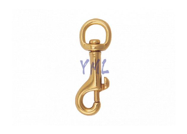 BH03 5055B Brass Snap Hook