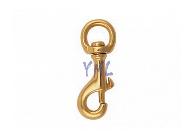 BH02 350B Brass Snap Hook