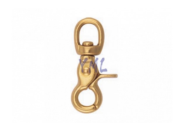 BH04 5013B Brass Snap Hook