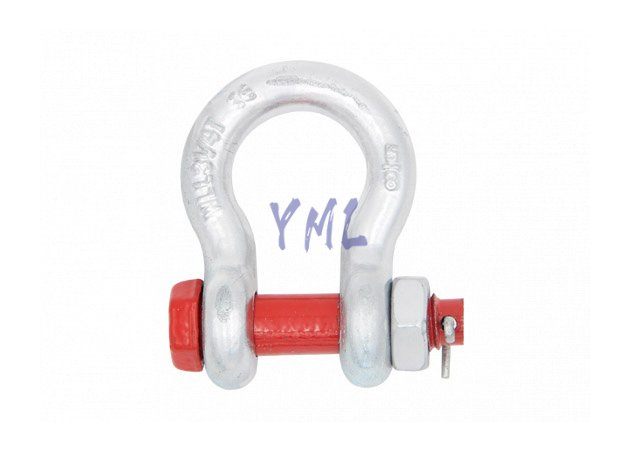 SH07 Bolt Type Safety Anchor Shackle,U.S.Type G2130 ,Drop Forged