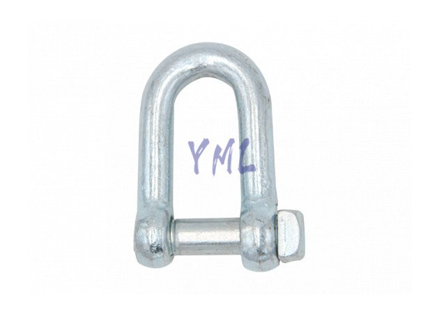 SH09 European Type Trawing Chain Shackle Dee Type