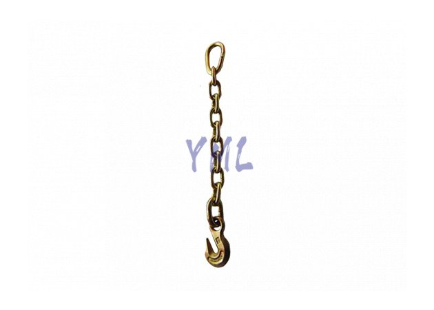 CH07 USA Standard Chain with Pear Link One End and Eye Grab Hook the other End