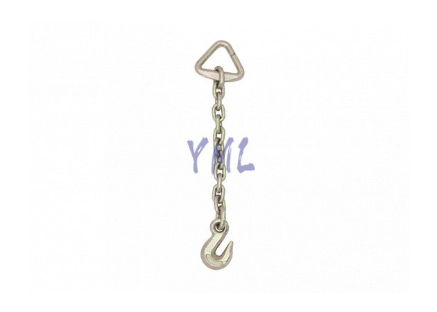 CH06 USA Standard Chain with Delta Ring One End and Grab Hook the other End